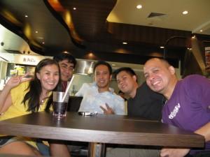 Aileen, Ederic, Alex, Leonard, at Jonas