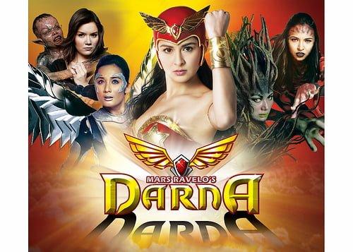 Si Darna at ang kanyang mga kalaban (GMA Photo)